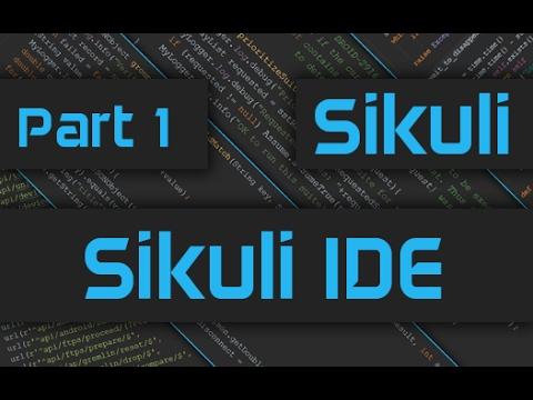 Sikuli Tutorial: How to use Sikuli IDE - Part 1