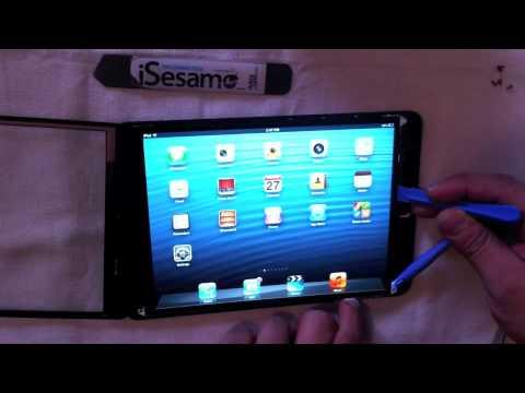 iPad Mini glass digitizer removal