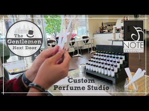 NOTE Fragrances Vlog + Custom Perfume Studio Review!