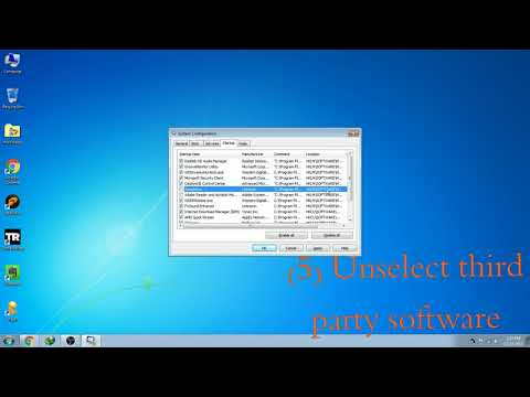 HOW TO CHANGE OR REMOVE STARTUP PROGRAMS IN WINDOWS 7 AND SPEEDUP COMPUTER.