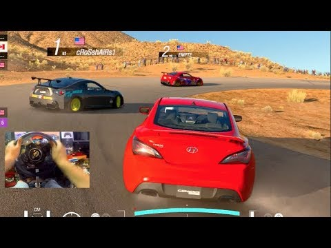Gran Turismo Sport GoPro FIRST Online Drifting Lobby! (T-GT)