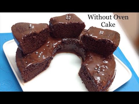 How to Make Eggless Cake | Without Oven and Microwave  | Eggless Chocolate Cake In Pot