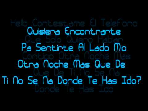 Contestame El Telefono - Alexis Y Fido Ft. Flex - YMP (Official Lyrics) HD