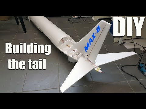 Boeing 737 MAX-8 RC airplane DIY project P-2