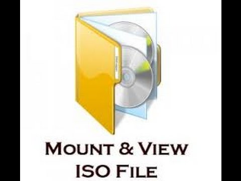 How to Mount iso nrg mds disk images