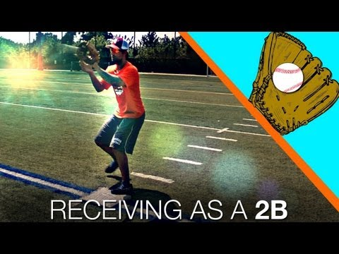 Turning a Double Play - Receiving as a 2nd Basemen