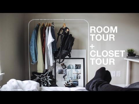 Room Tour + Closet Tour: Minimal & Modern