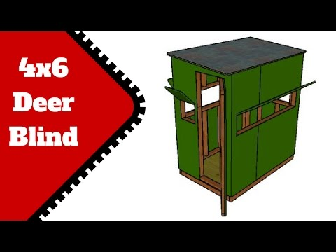 Deer Stand Plans 4x6