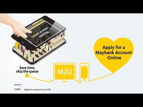 Maybank - Skip the jam and apply online!