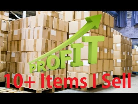 10+ Items I Sell On Amazon FBA - See How I Make Over $100 Profit From ONLY 1 Item