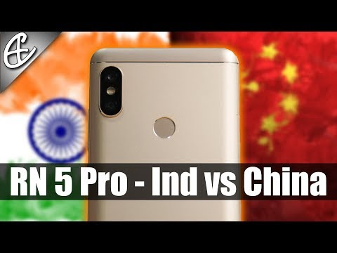 Redmi Note 5 Pro - Chinese Variant Better? China vs India Differences!