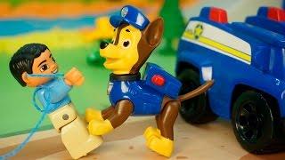 Download Видео про игрушки щенячий патруль новые серии - Браконьер. Щенячий патруль спасает зайчика. Video