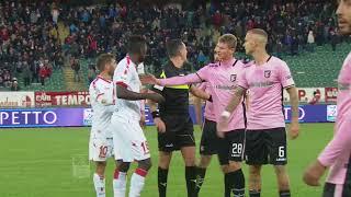 Serie B ConTe.it: Bari-Palermo 0-3 (18a giornata - 2017/18)