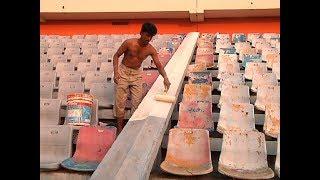 সরিয়ে দেয়া হচ্ছে বঙ্গবন্ধু স্টেডিয়ামের গ্যালারির চেয়ার ! | Bangabandhu Stadium | Somoy Tv