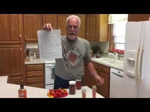 How to make Carolina Reaper BBQ sauce. ( pineapple Reaper sauce)
