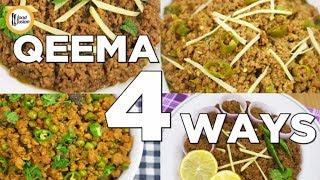 Qeema 4 ways | Best Qeema Recipes by Food Fusion