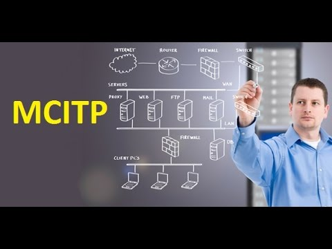MCITP Training Tutorial - Microsoft Certified IT Professional Basic Introduction