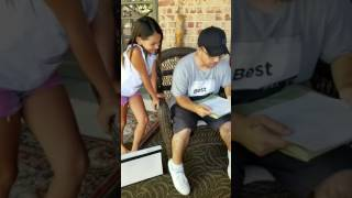 9 year old asks her Step father to adopt her on Fathers Day!