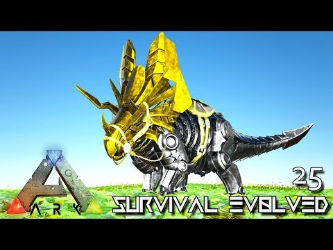ARK: SURVIVAL EVOLVED - BUILDING NEW PRIMAL TEK DINOSAURS