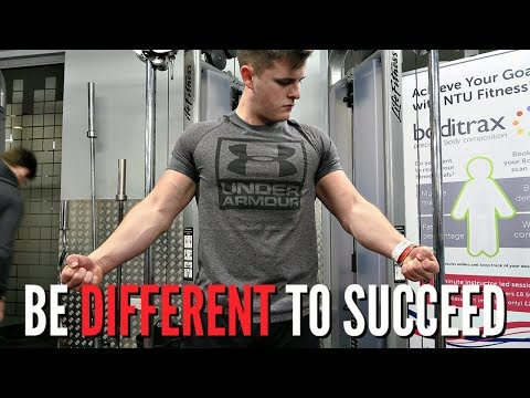 BE DIFFERENT TO SUCCEED!!