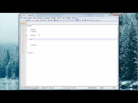 HTML Tutorial #2 Headings & Bold/Italic Text