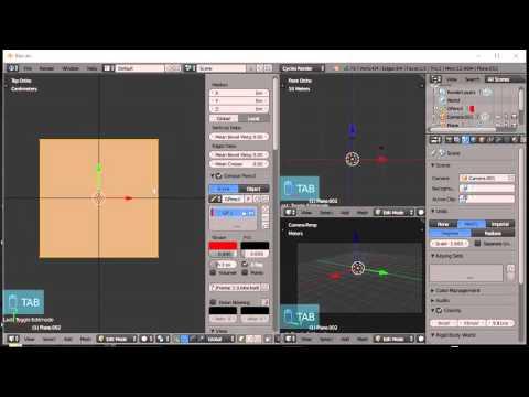 Blender For Noobs - Modeling to scale in Blender