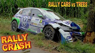 💥RALLY  CAR vs TREE💥- SPECIAL Compilation-Flying Into The Trees!-Epic Fails  by Chopito Rally Crash