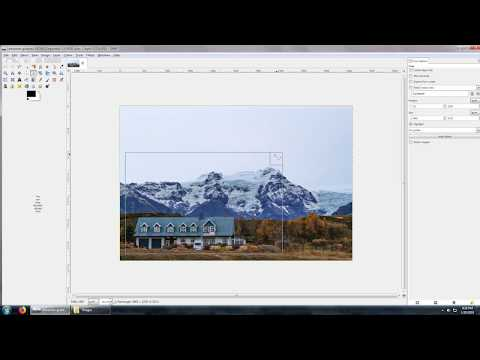 How to crop a photo with free software (GIMP) on Windows, Mac or Linux