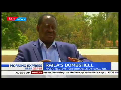 Raila says open to dialogue in UK
