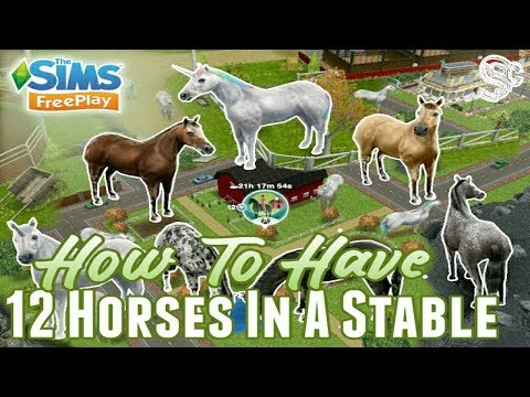How To Have More Than 6 Horses In A Stable - The Sims FreePlay
