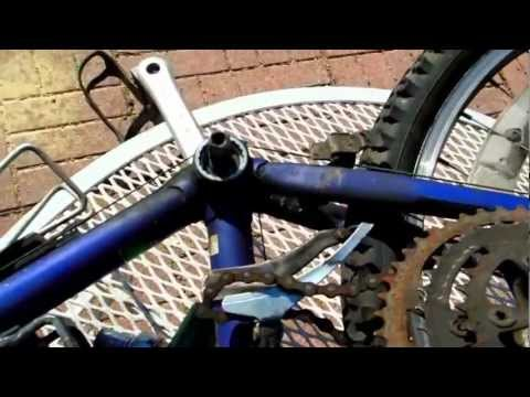 Remove BICYCLE Chain Ring & Pedal Arm