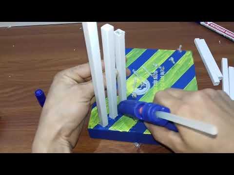 How To Make | DIY Plastic Pipe Lamp