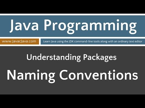 Learn Java Programming - Package Naming Conventions Tutorial