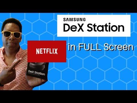 The Secret Trick To Running Netflix In Full Screen On Samsung Dex!