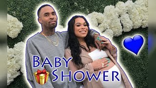OUR BABY SHOWER!! (EMOTIONAL)