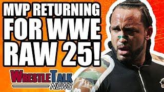 MVP RETURNING To WWE RAW!   WrestleTalk News Jan. 2018