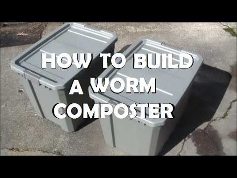 How To Build A Worm Composter