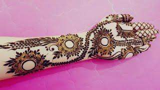 Eid Special Henna Design 2018 3 Heena Vahid