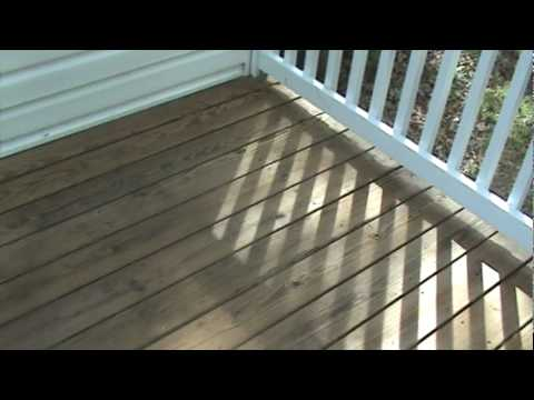 how to clean and stain a deck   after