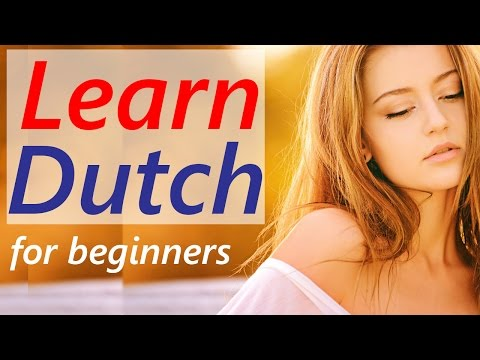 Dutch language learning lessons for beginners course