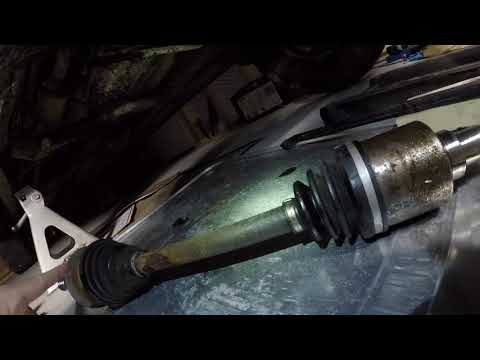 2001-2006 Toyota Tundra Sequoia Leaking Front Differential Seal Replacement