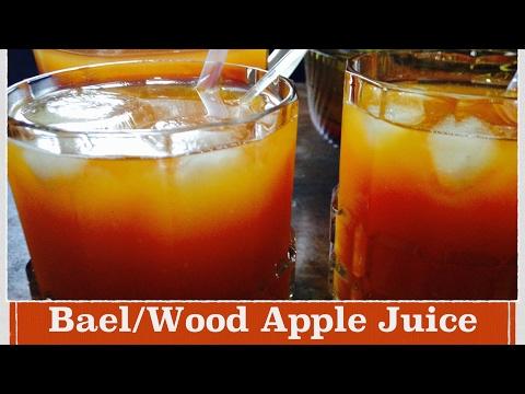 Bael Juice Recipe | How to make Easy Bael /Wood Apple Juice at Home | Recipe in Hindi