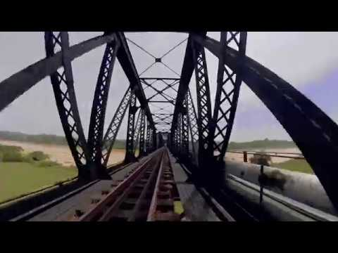Mavic Air   Insta360 one   Guillemard Bridge in Tanah Merah, Kelantan, Malaysia