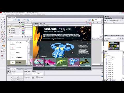 Website Design ch5 Testing Your Flash Movie & Fixing Errors