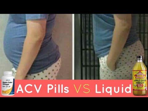 ACV Pills VS Liquid For Weight Loss