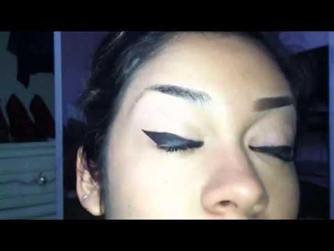 high arch eyebrows: tutorial