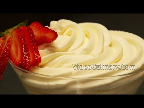 White Chocolate Frosting (Ganache) Recipe - Video Culinary