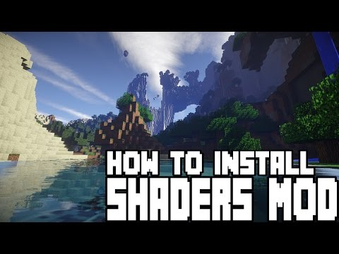 HOW TO INSTALL - SHADERS MOD 1.8 with 1.10 - 1.9.4 Minecraft INSTALLS