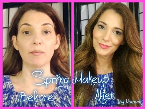Avon Spring Makeup-  Get Ready With Me