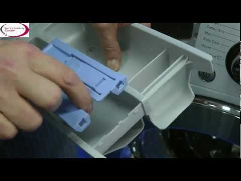 LG Service Academy EU - How to clean the washing machine dispenser